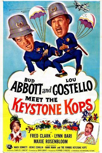 Abbott and Costello Meet the Keystone Kops Kunstdruck