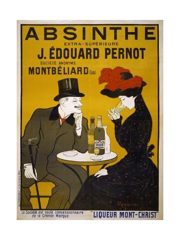 Absinthe Poster by Leonetto Cappiello Giclée-Druck