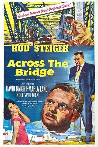 Across the Bridge Kunstdruck