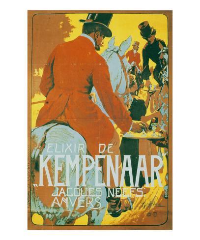 Elixir de Kempenaar Kunstdruck