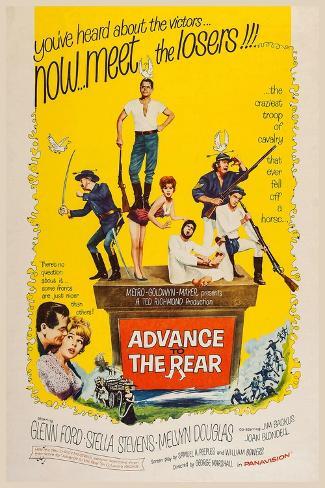 Advance to the Rear, 1964 Kunstdruck
