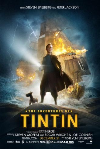 Adventures of Tin Tin Doppelseitiges Poster