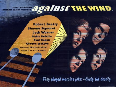 Against the Wind Kunstdruck