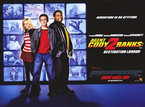 Agent Cody Banks 2: Mission London Originalposter