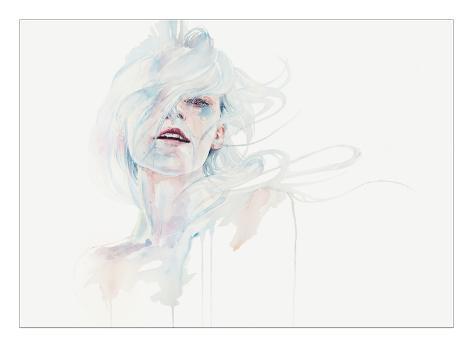 Ghost in Your Mind Giclée-Premiumdruck