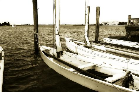 Skiffs III Fotografie-Druck