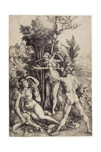 Hercules, C. 1499 Giclée-Druck
