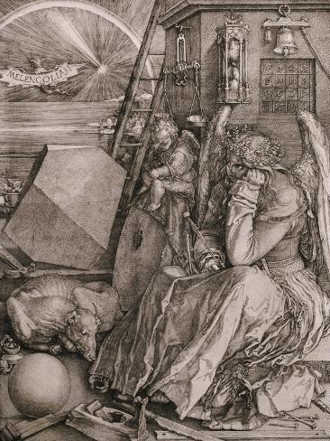 Melancholia, 1513 Giclée-Druck