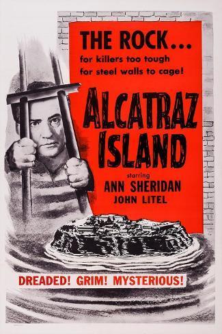 Alcatraz Island, John Litel, 1937 Kunstdruck