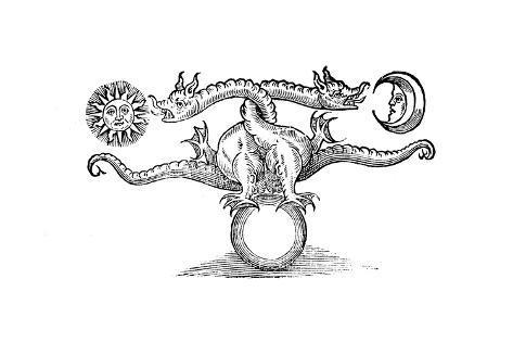 Alchemical Symbol Representing The Transmutation Of Base Metal Into
