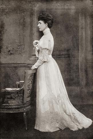 Alexandra of Denmark, 1844-1925 Giclée-Druck