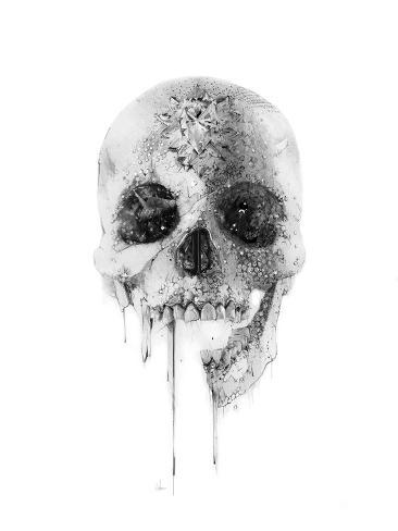 Crystal Skull Giclée-Premiumdruck