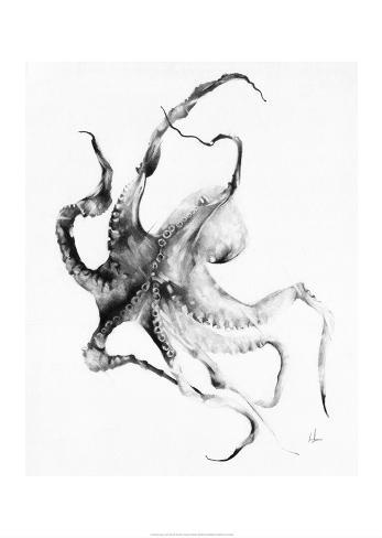 Kraken Kunstdruck