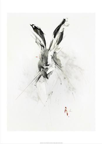 Mr. Rabbit Kunstdruck