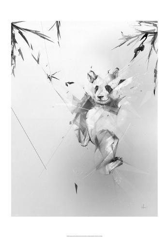 Panda Kunstdruck