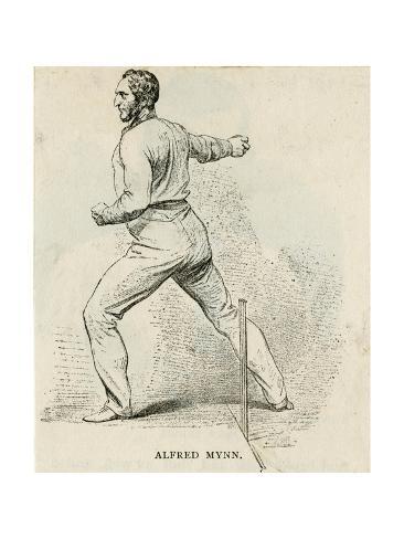 Alfred Mynn, Cricketer Giclée-Druck