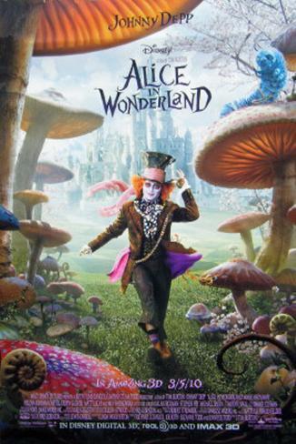Alice im Wunderland, Teetasse, Englisch Doppelseitiges Poster