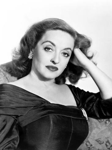 All About Eve, Bette Davis, in a Gown by Edith Head, 1950 Foto