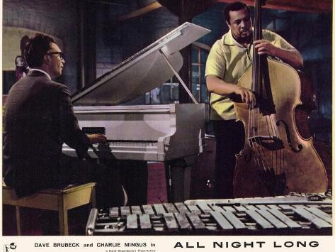 All Night Long, 1962 Kunstdruck