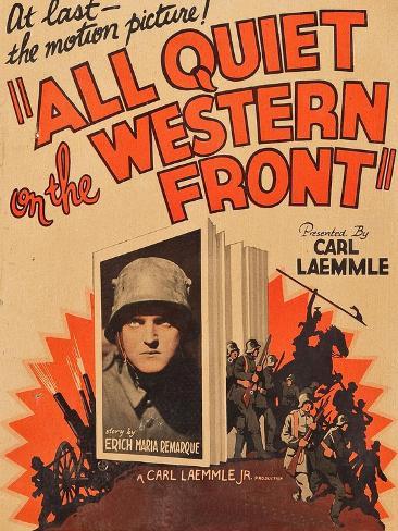 All Quiet on the Western Front Kunstdruk