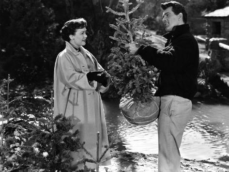All That Heaven Allows, Jane Wyman, Rock Hudson, 1955 Foto