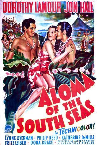 Aloma of the South Seas Kunstdruck