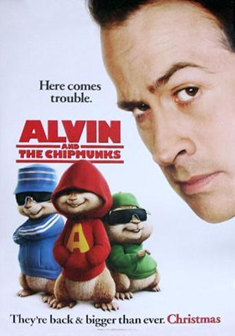 Alvin und die Chipmunks Originalposter
