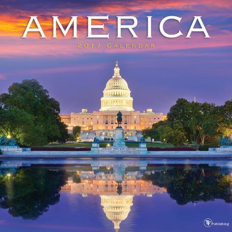 America - 2017 Calendar Kalenders