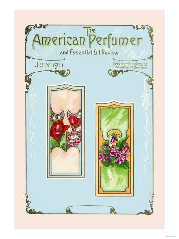 American Perfumer and Essential Oil Review, July 1911 Kunstdruck