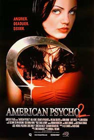 American Psycho 2 Originalposter