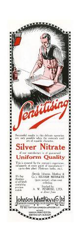 An Advertisement for Johnson Matthey and Co. Ltd Giclée-Druck