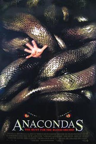 Anacondas Originalposter