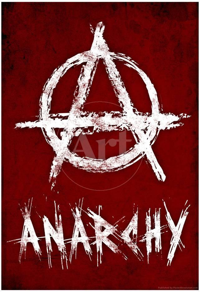 Anarchy Symbol Resistance Poster Posters Bij Allposters