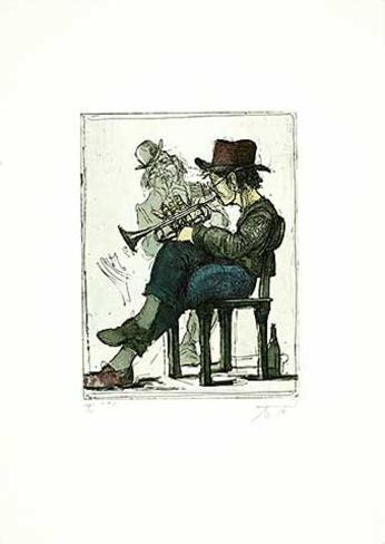 "/""John Lennon/"" Andreas Noßmann Kunstdruck"