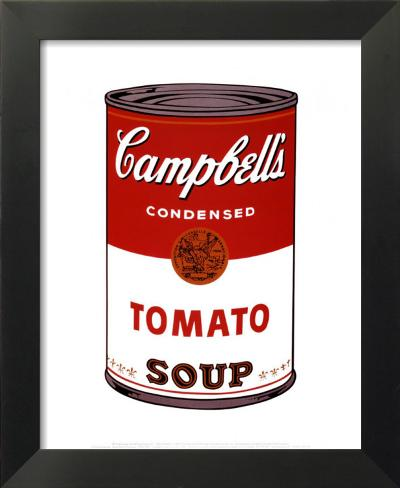 campbell suppe i tomatensuppe 1968 kunstdrucke von andy warhol bei. Black Bedroom Furniture Sets. Home Design Ideas