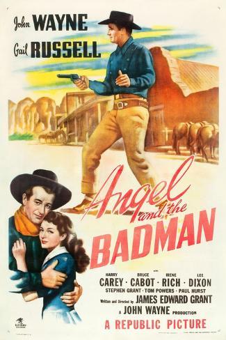 Angel and the Badman, 1947 Kunstdruck