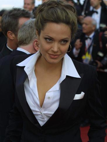 Angelina Jolie at Cannes Film Festival, 2004 Fotografie-Druck