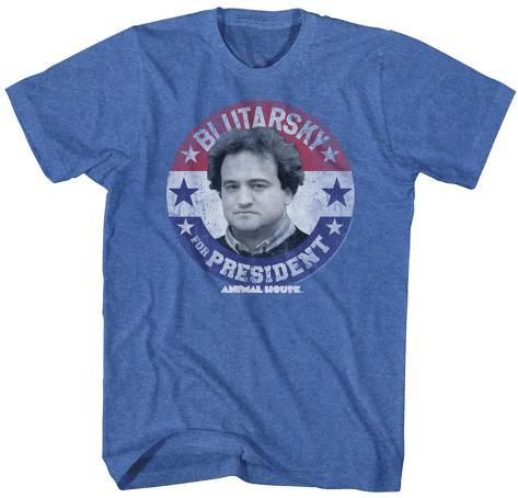 Animal House- Blutarsky For Prez Button T-Shirt