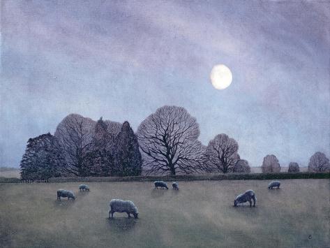 Moonlit Night, 2004 Giclée-Druck