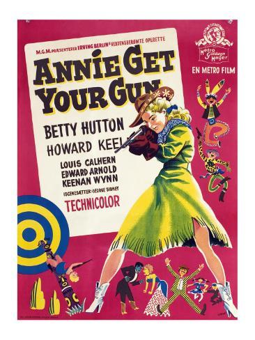Annie Get Your Gun, Betty Hutton, 1950 Foto