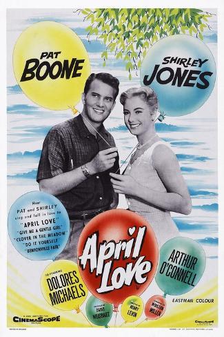 April Love, 1957 Kunstdruck