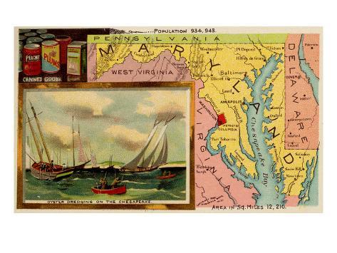 Maryland Kunstdruck