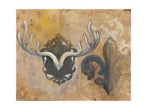 Antlers Kunstdruck