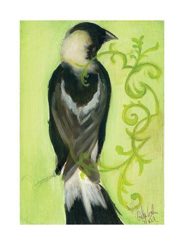 Bird Study III Kunstdruck