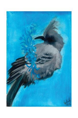 Bird Study IX Kunstdruck