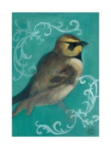 Bird Study V Kunstdruck