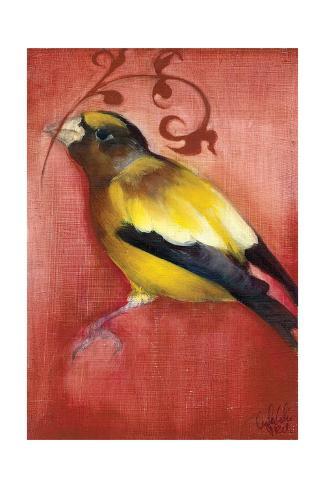 Bird Study VI Kunstdruck