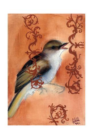 Bird Study VII Kunstdruck