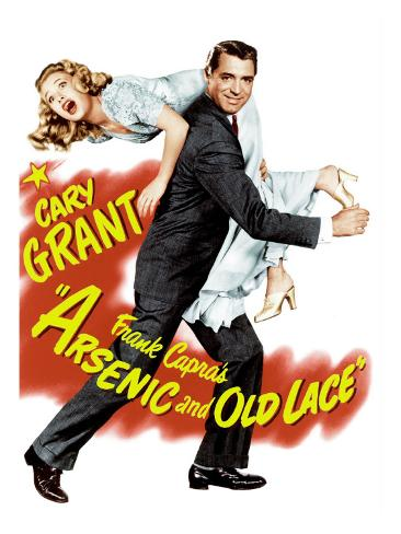 Arsenic and Old Lace, Priscilla Lane, Cary Grant, 1944 Foto