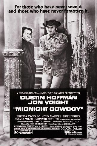 Asphalt-Cowboy Kunstdruck